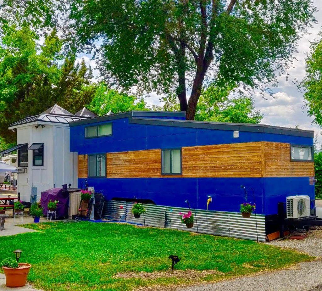 tiny travel chick tiny house on wheels builders liberation tiny homes