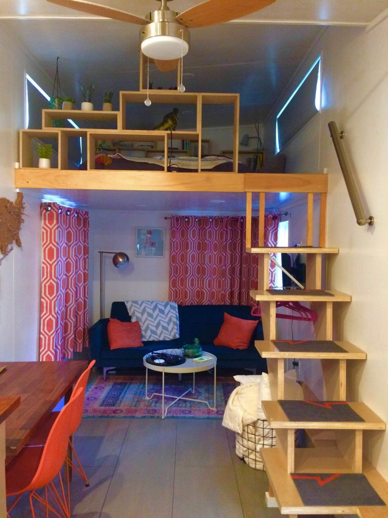 tiny travel chick tiny house on wheels builders salt lake city airbnb
