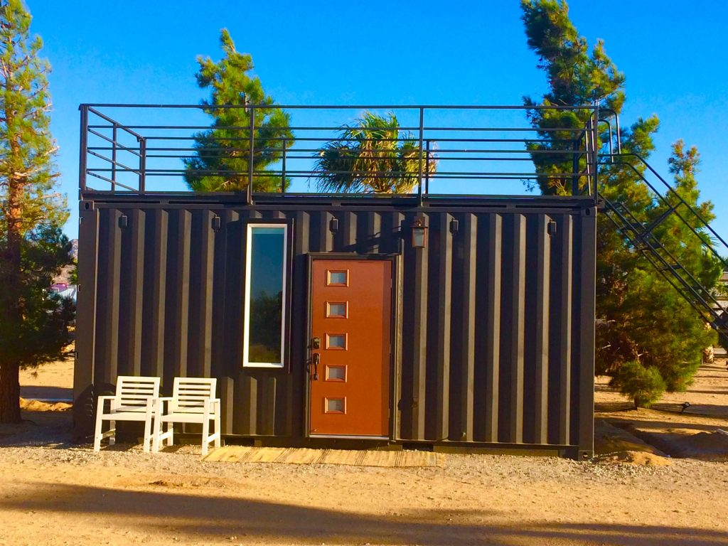 tiny travel chick national park glamping tiny container home summar