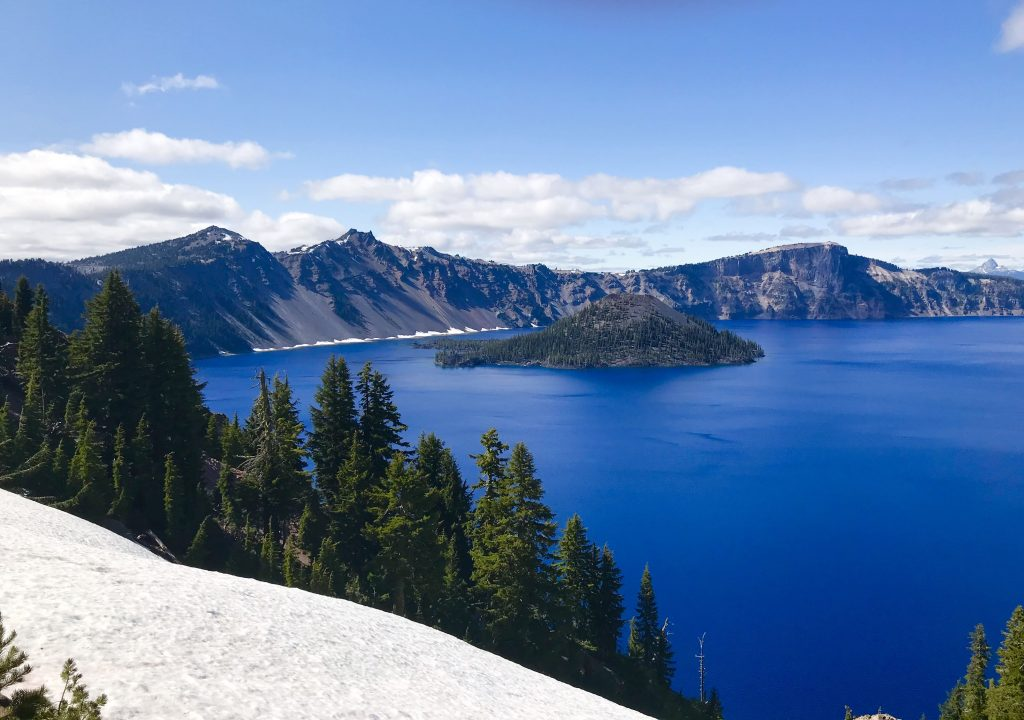 tiny travel chick tiny house airbnb crater lake oregon