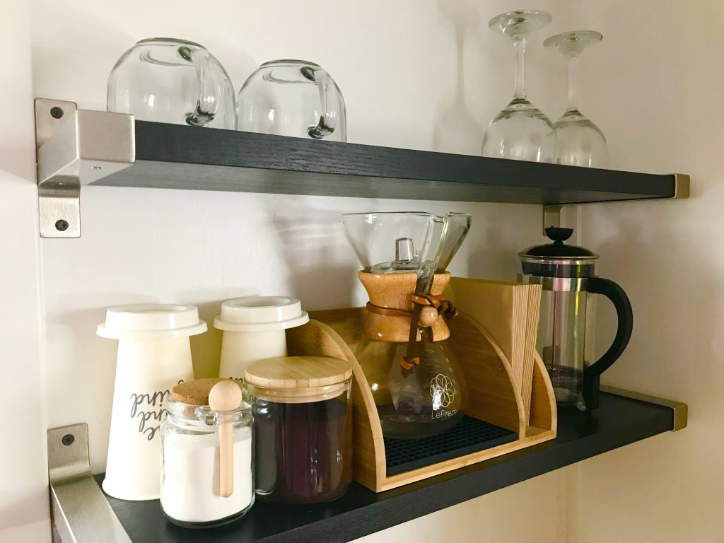 tiny travel chick tiny house airbnb coffee bar