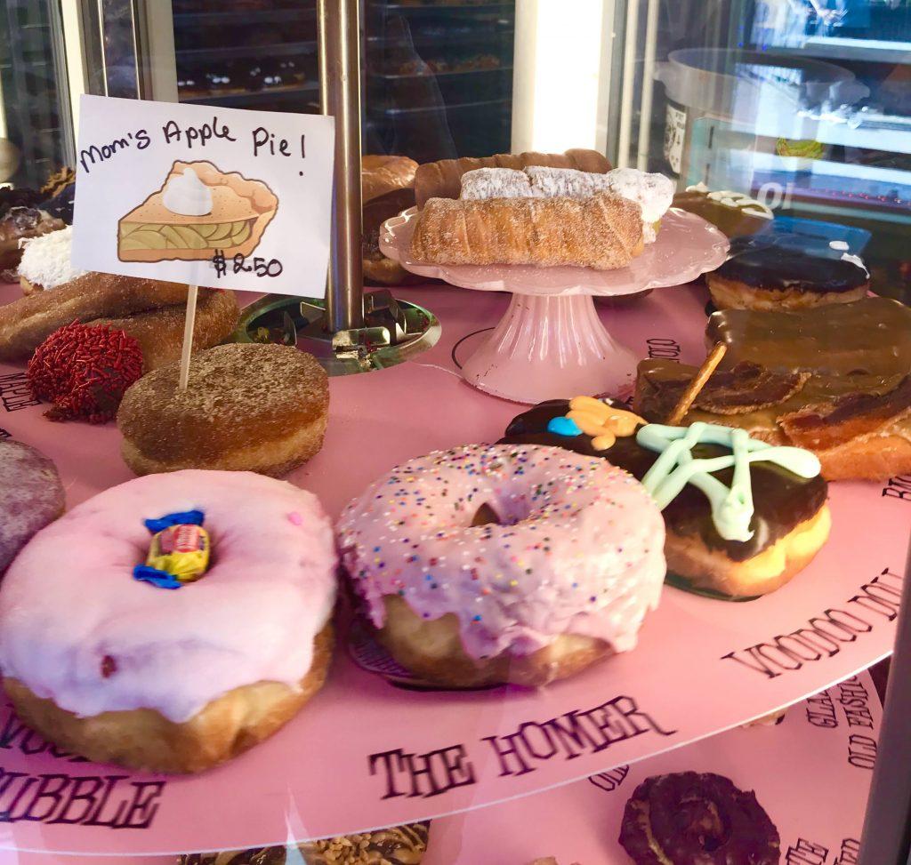tiny travel chick voo doo doughnuts portland keep it wierd