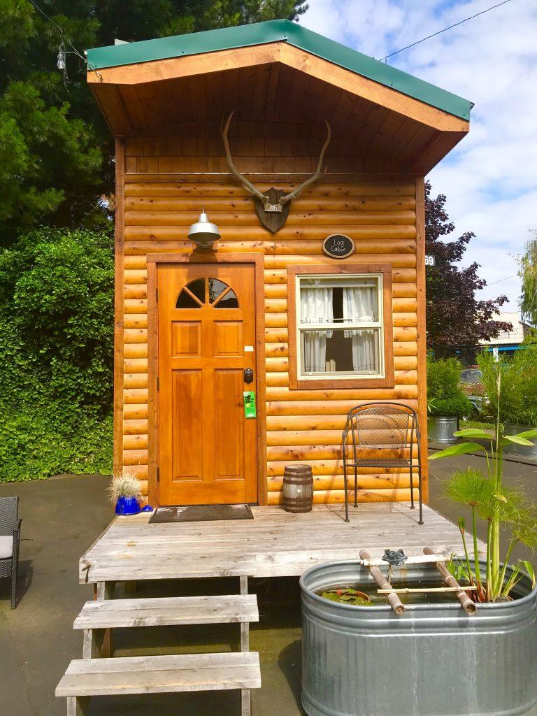 tiny travel chick tiny house getaway the cabin