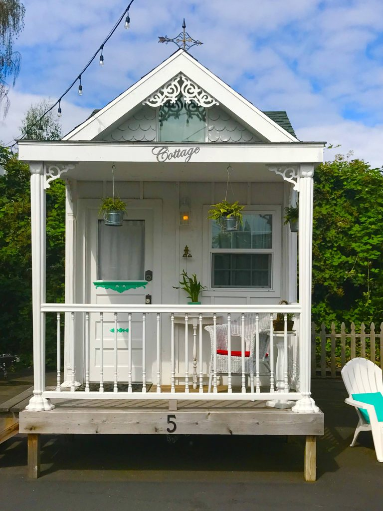 tiny travel chick tiny house getaway the cottage