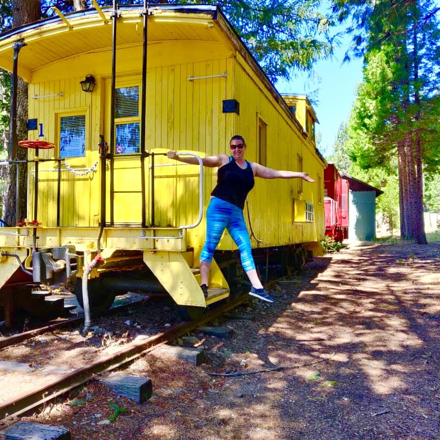 tiny travel chick unique airbnb caboose #1