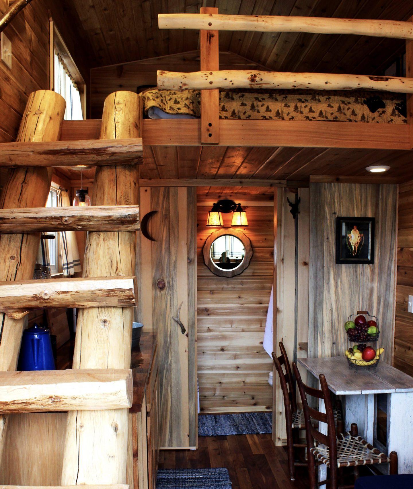 tiny travel chick small beautiful houses cabin tiny house