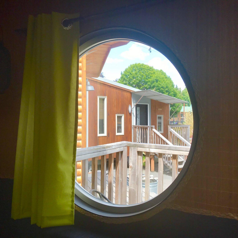tiny travel chick japanese tiny house window
