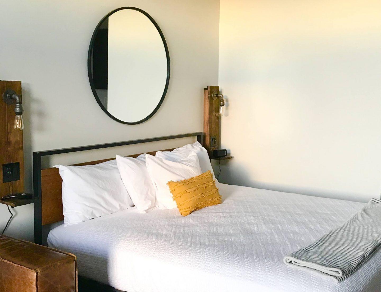 tiny travel chick tiny house vacations bedroom
