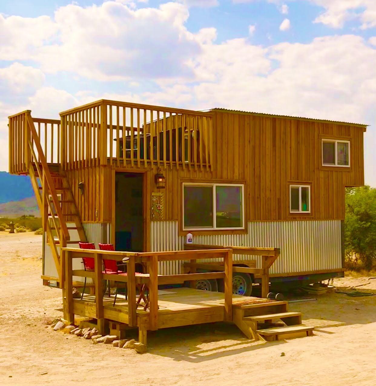 tiny travel chick tiny house getaways sandy valley nevada