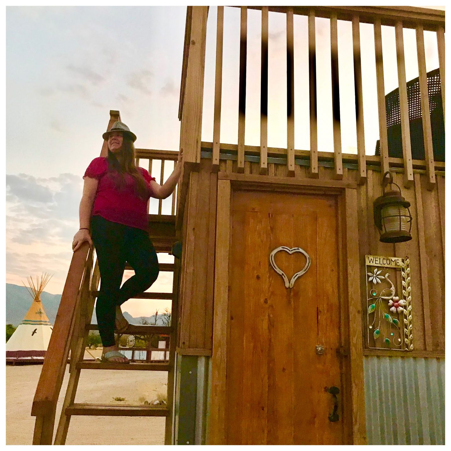tiny travel chick best glamping peacock tiny house