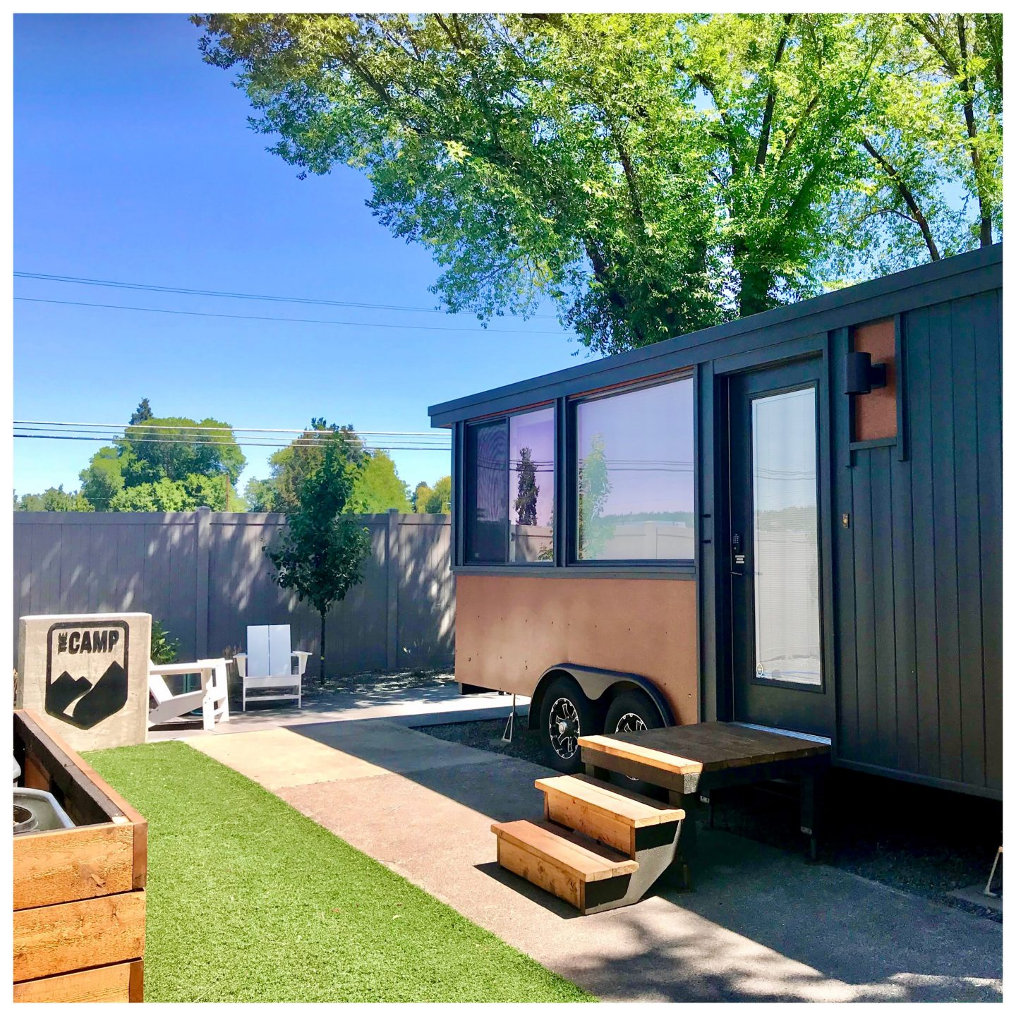 tiny travel chick best glamping camp bend tiny house