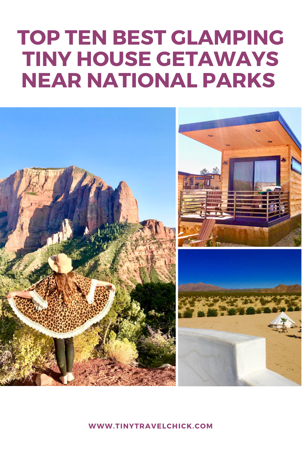 tiny travel chick best glamping tiny houses near national parks