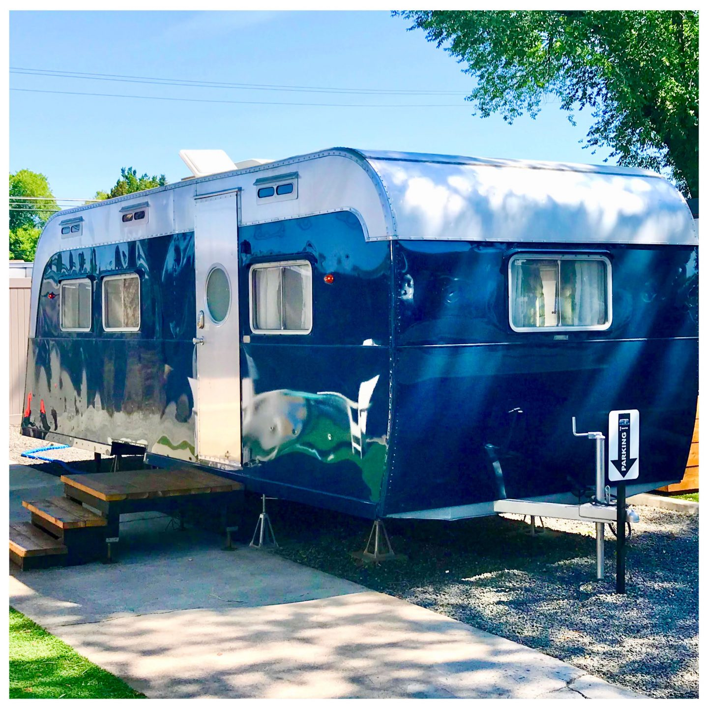 tiny travel chick best glamping the draper