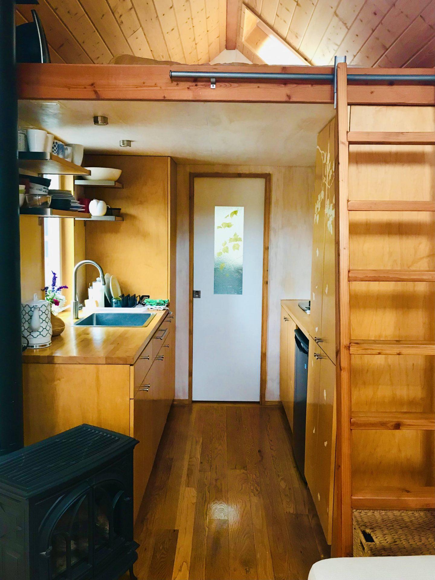 tiny travel chick tiny house company off grid tiny house