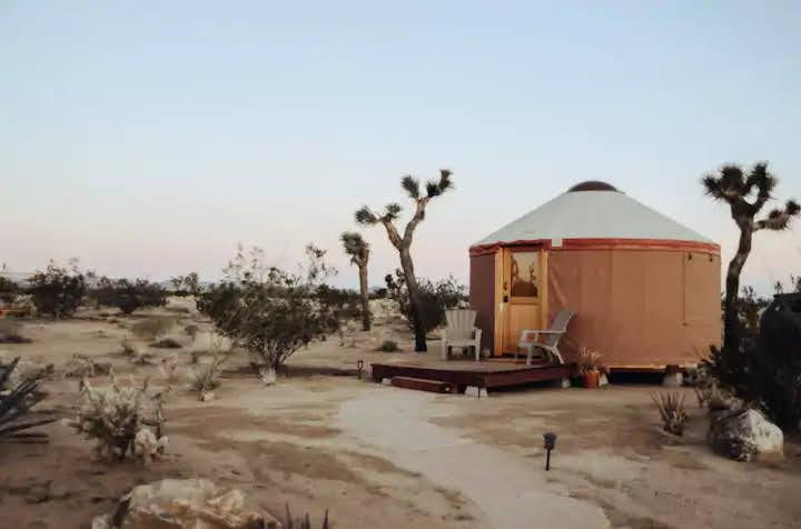 tiny travel chick national park glamping yurt